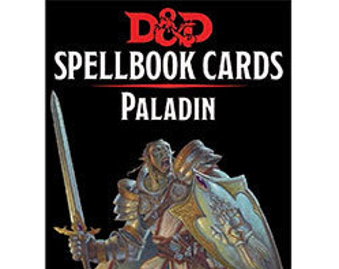 D&D 5th Edition: Spellbook Cards - Paladin - Gale Force 9