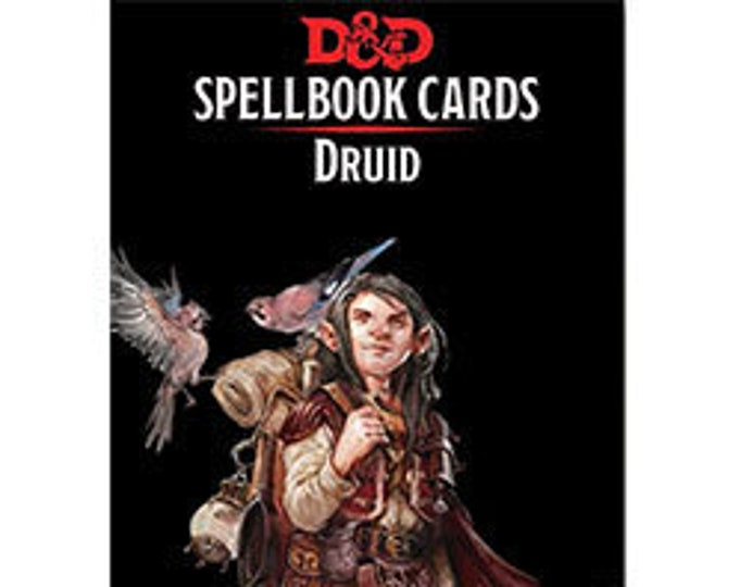 D&D 5th Edition: Spellbook Cards - Druid - Gale Force 9