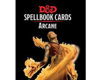 D&D 5th Edition: Spellbook Cards - Arcane (Damaged Box) - Gale Force 9