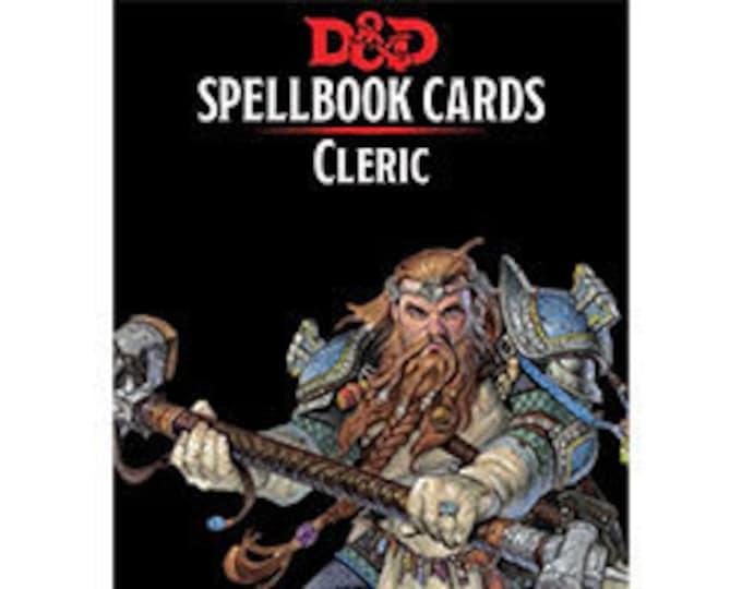 D&D 5th Edition: Spellbook Cards - Cleric - Gale Force 9