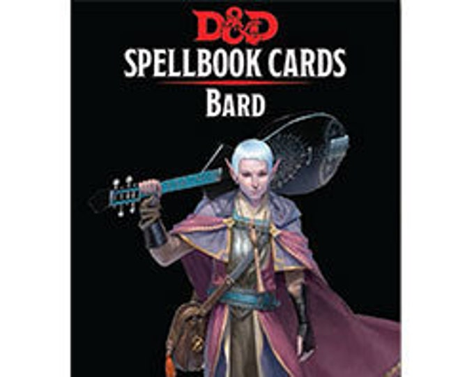 D&D 5th Edition: Spellbook Cards - Bard - Gale Force 9
