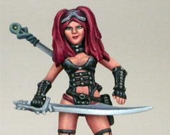 Elmore Masterworks: Female Goth Warrior - 1160 - Dark Sword Miniatures