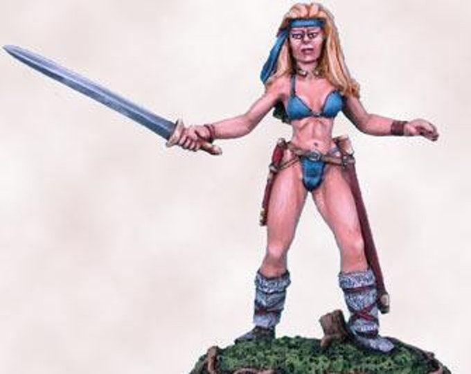 Elmore Masterworks: Chick w/Sword  - 1130 - Dark Sword Miniatures