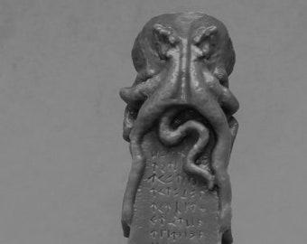 Reaper 77525: Great Obelisk of Cthulhu 28mm Dark Heaven Bones Plastic Miniatures - Reaper Miniatures