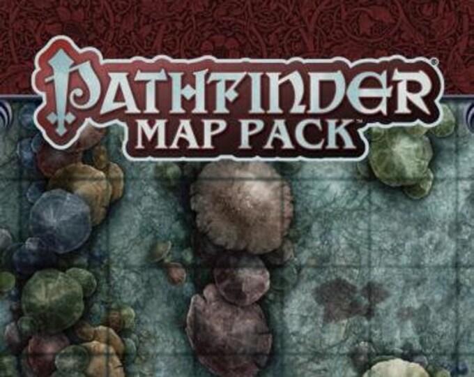 Pathfinder RPG: Map Pack - Fungus Forest - Paizo Publishing