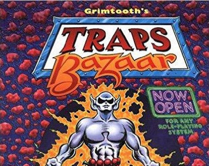 Grimtooth's Traps Bazaar - Flying Buffalo Games