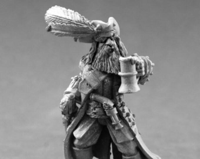 60137: Captain Kerdak Bonefist - Reaper Miniatures