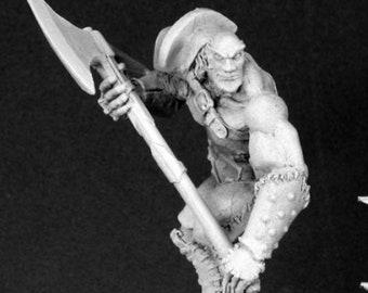 Uglunuk, Half Giant Warrior - 03412 - Reaper Miniatures
