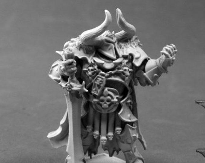 Krass Omenthrall, Evil Warrior - 03792 - Reaper Miniatures