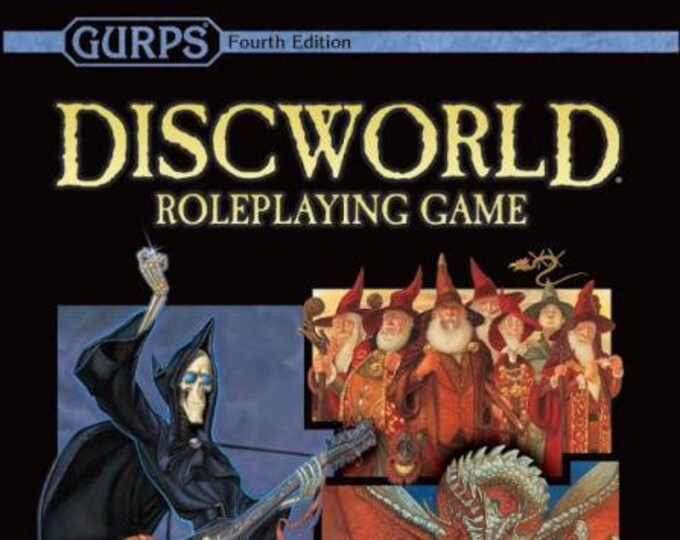 GURPS RPG 4th Edition: The Discworld RPG (Second Edition) - Steve Jackson Games
