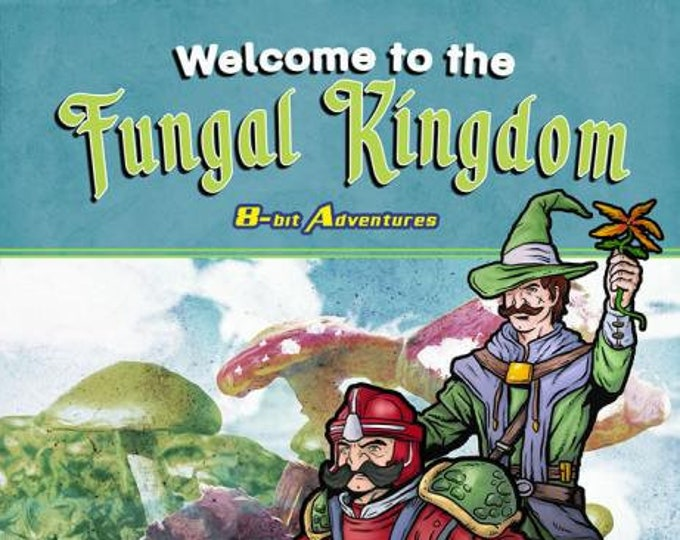 Pathfinder RPG: 8-Bit Adventures - Welcome to the Fungal Kingdom - Fat Goblin Games