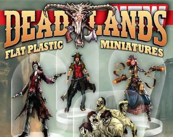 Flat Pack Miniatures: Deadlands - ArcKnight