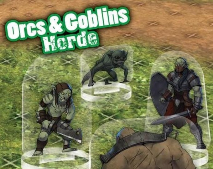 Flat Pack Miniatures: Orc and Goblin Horde - ArcKnight