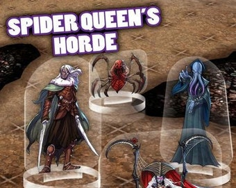 Flat Pack Miniatures: Spider Queen's Horde - ArcKnight