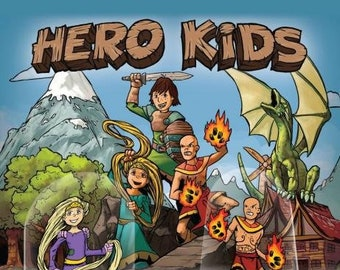 Flat Pack Miniatures: Hero Kids - ArcKnight
