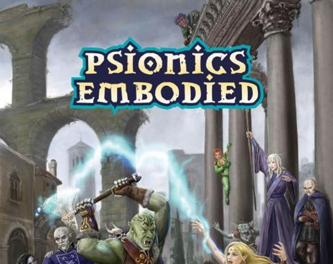 Pathfinder RPG: Psionics Embodied - Dreamscarred Press