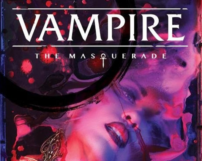 Vampire the Masquerade RPG 5th Edition: Core Rulebook - Modiphius Entertainment
