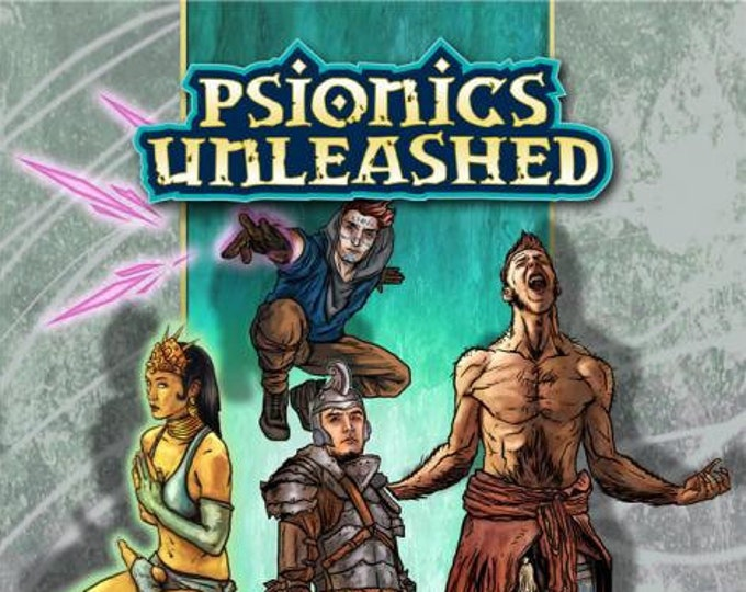 Pathfinder RPG: Psionics Unleashed  - Dreamscarred Press