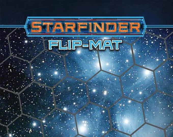 Starfinder RPG: Flip Mat - Basic Starfield - Paizo Publishing