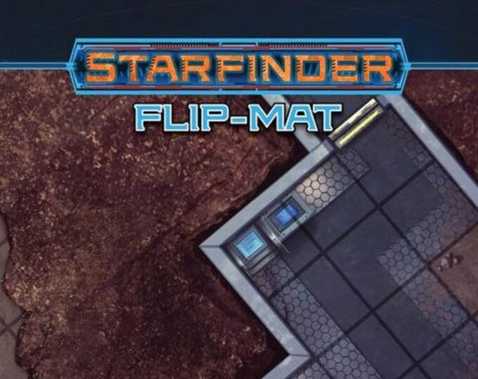 Starfinder RPG: Flip Mat - Urban Sprawl - Paizo Publishing