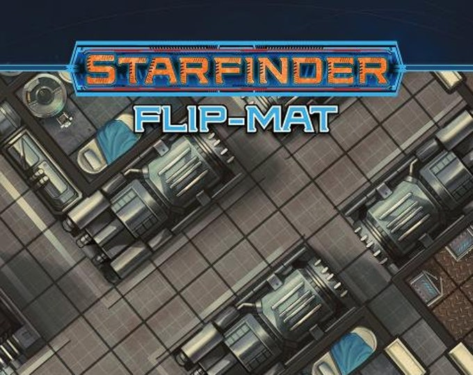 Starfinder RPG: Flip Mat - The Sunrise Maiden Starship - Paizo Publishing