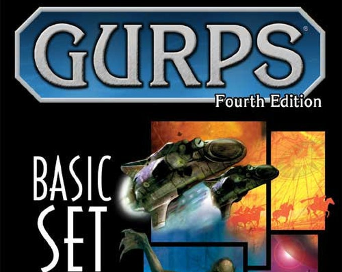 GURPS RPG 4th Edition: Basic Set - Campaigns Hardcover - Steve Jackson Games