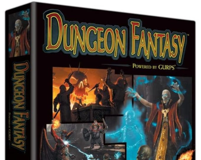 GURPS RPG 4th Edition: Dungeon Fantasy Boxed Set - Steve Jackson Games
