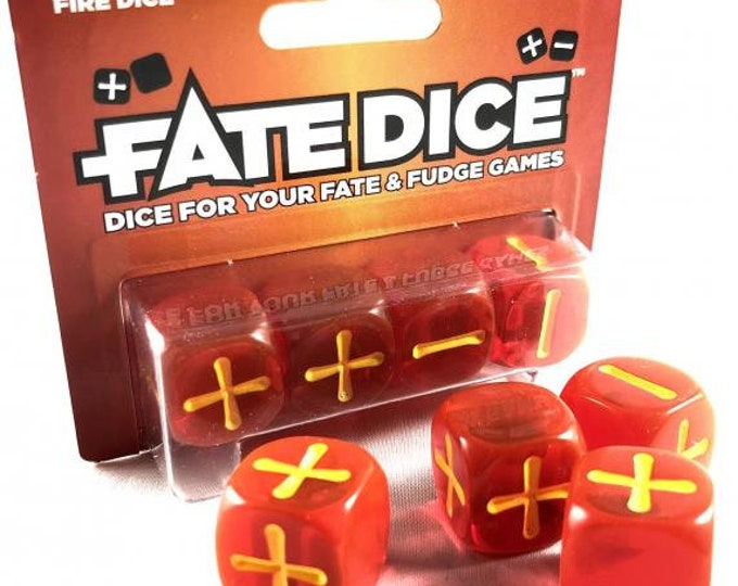 Fate Dice: Fire Dice - EHP9019 - Evil Hat Productions