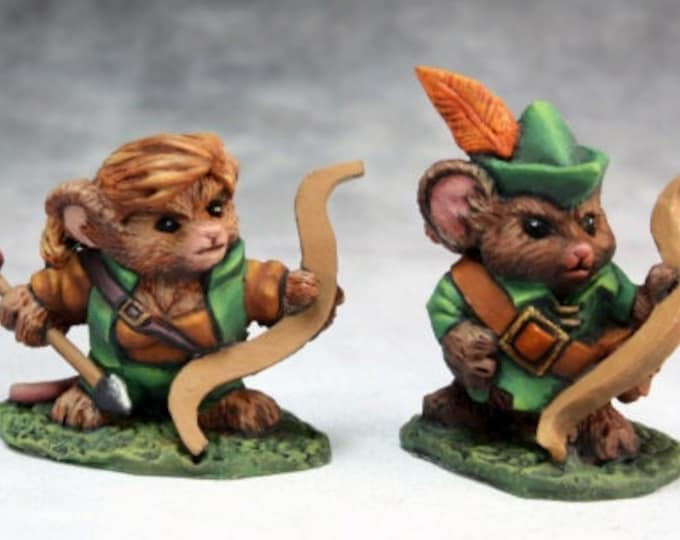 Mousling Ranger and Yeoman - 03743 - Reaper Miniatures