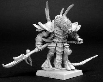 Khong-To, Reptus Warlord - 14092 - Reaper Miniatures