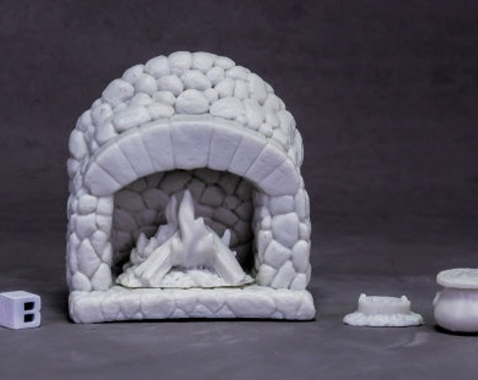 77617: Dungeon Dressing - Hearth - Reaper Miniatures