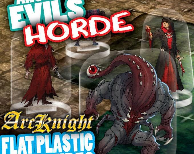 Flat Pack Miniatures: Ancient Evils Horde - ArcKnight