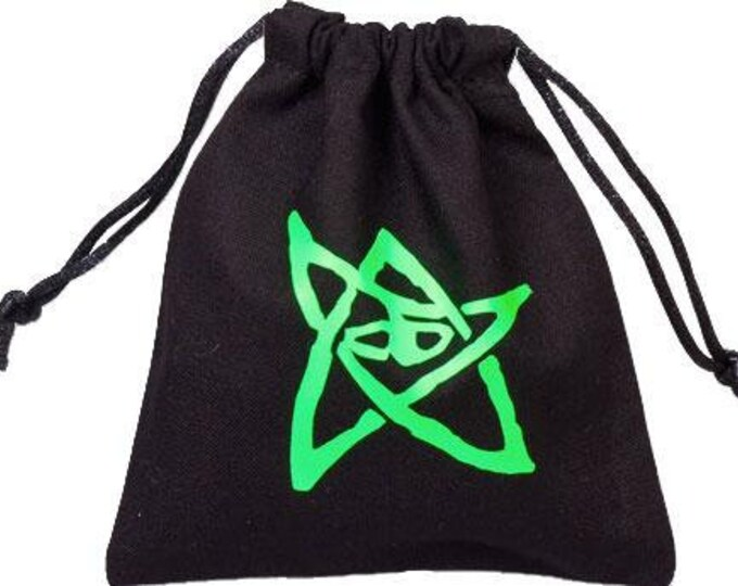Dice Accessories: Call of Cthulhu Dice Bag (Black) - Q-Workshop
