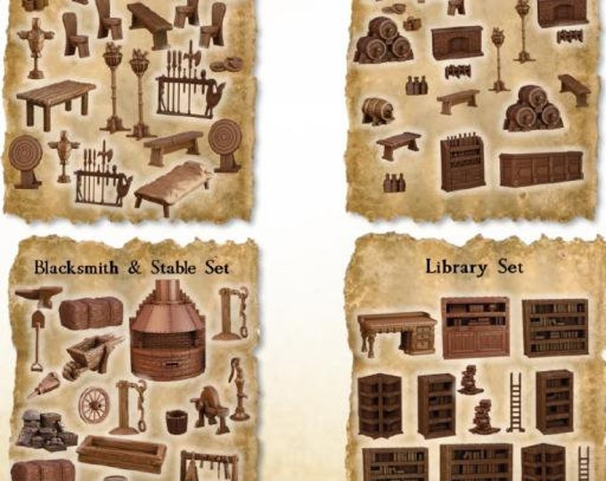 Terrain Crates: Town Crate - Mantic Games (Backorder)