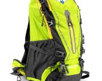 45L Internal Frame Backpack, Lime - Grizzly Peak
