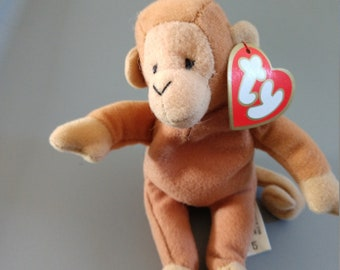 Bongo the Monkey - Ty Teenie Beanie Babies - 1998