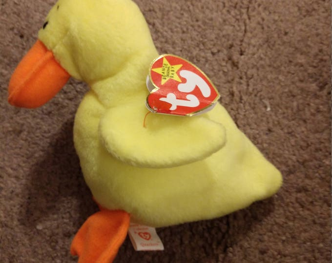 Quackers the Duck - Ty Beanie Babies - 1994