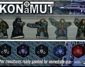 Backorder: Glory Seekers - Mercenaries Miniatures Set (5) Solid Pewter, Fully Painted - 40412 - Crystal Caste