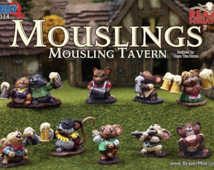 10034: Mousling Tavern - Reaper Miniatures