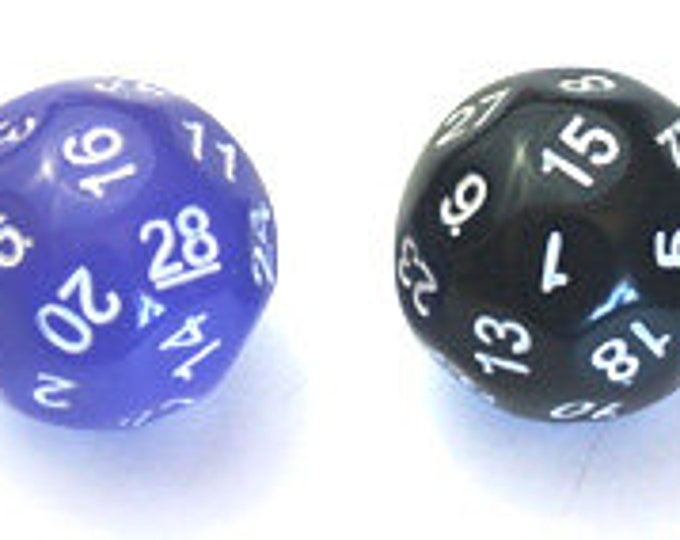 Unusual Dice - d28 Twenty-Eight-Sided Die