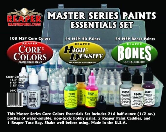 09972: Master Series Paints Essentials Set - Reaper Miniatures