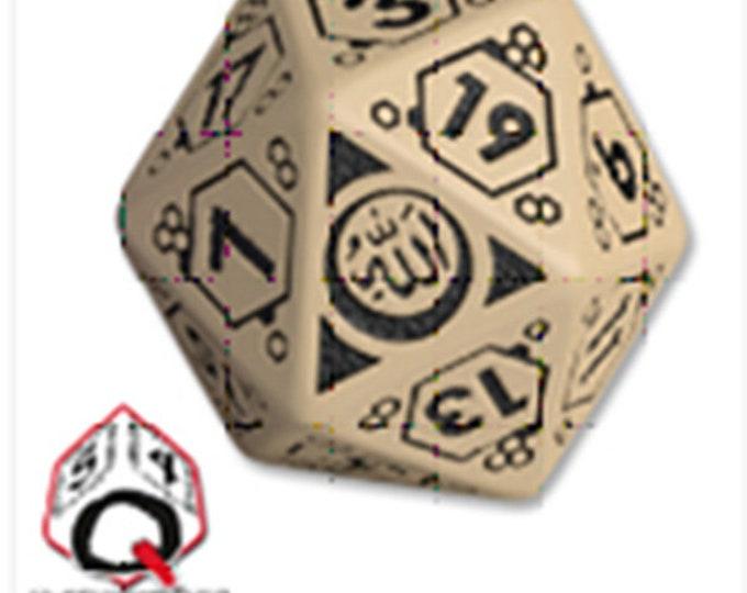 Infinity RPG Dice Set - Haqqislam BOX (7 Unique Dice) - 050496 - Modiphius Entertainment