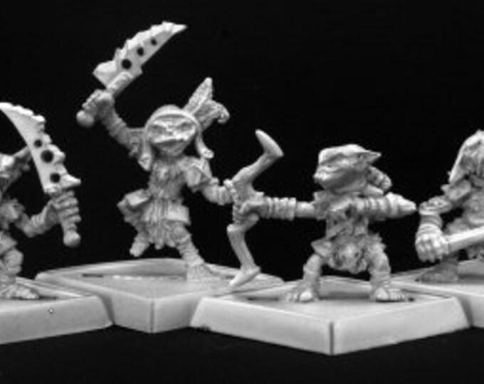 60006: Goblin Warriors (4) - Reaper Miniatures