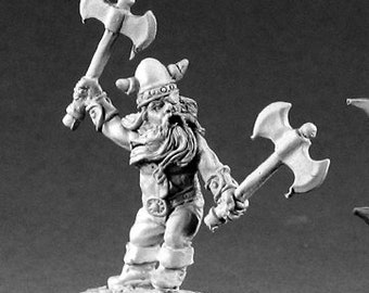 02237: Balan Ironbreaker - Reaper Miniatures