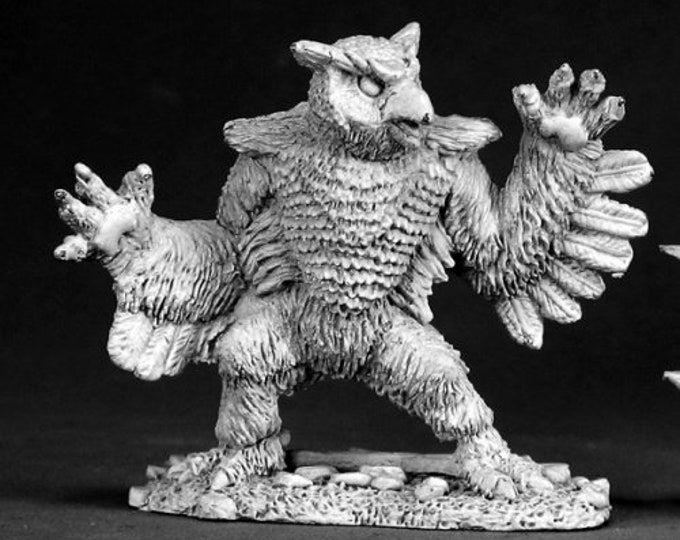 02526: Owl Bear - Reaper Miniatures