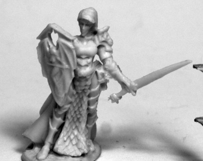 77490: Mara Frostblade, Antipaladin - Reaper Miniatures