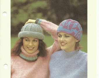 Top hats two easy crochet hat patterns digital download