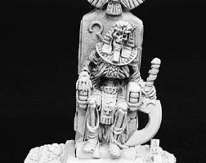 02740: Mummy King on Throne - Reaper Miniatures