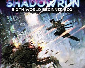 Shadowrun RPG 6th Edition Beginner Box - Catalyst Game Labs