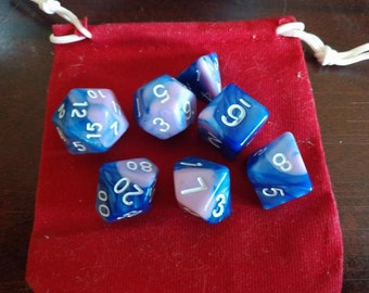 Transcendence - 7 Die Polyhedral Set